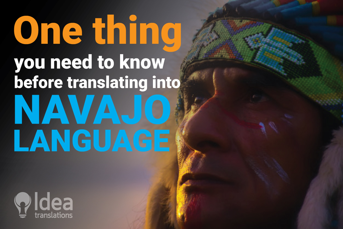A case of an enigmatic Navajo Language Translation