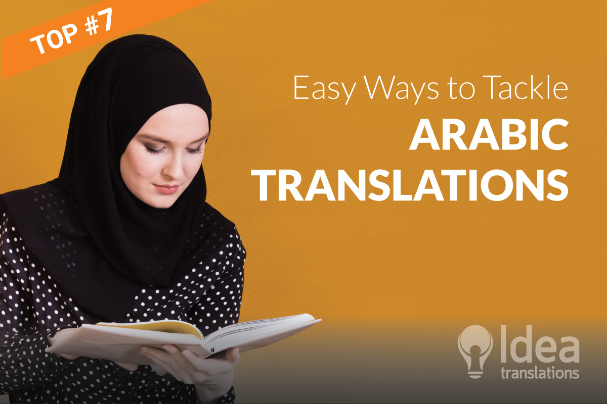 7 Easy Ways to Tackle Arabic Translations