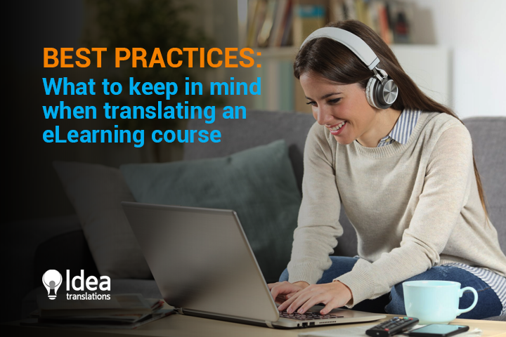 Best Practices: What to keep in mind when translating an eLearning course