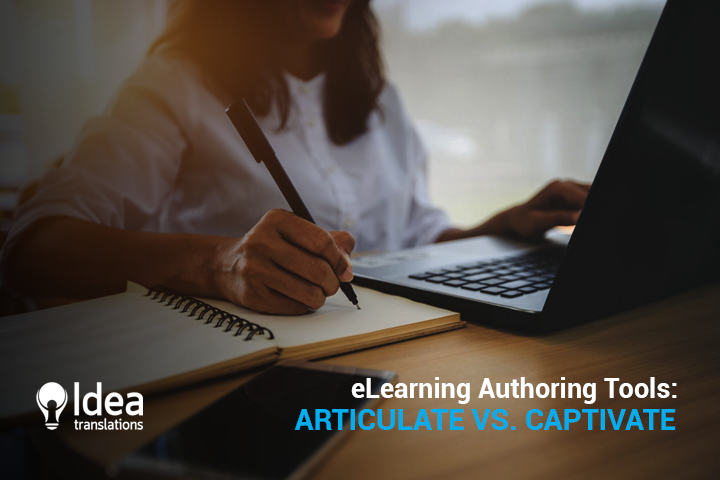 Quick Tips for eLearning Authoring Tools: Articulate vs. Captivate